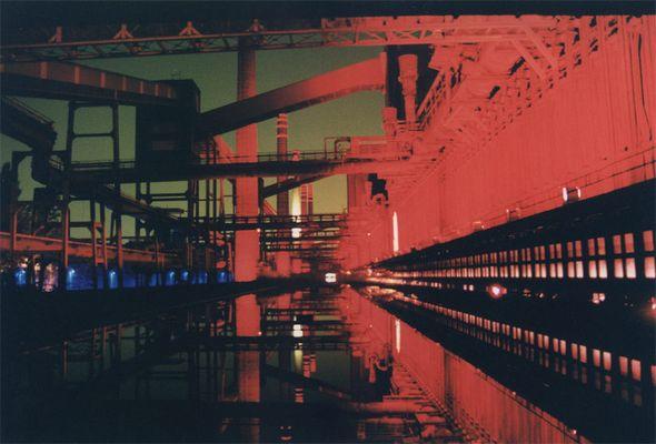 Ruhrgebiet bei Nacht II