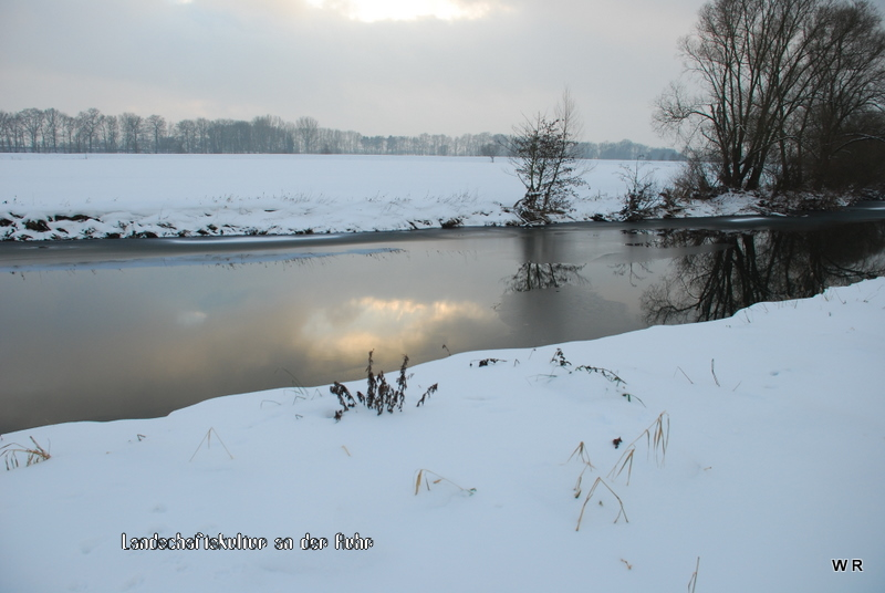 Ruhrlandschaft im Winter