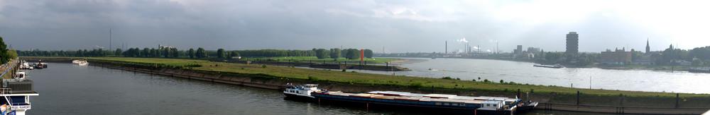 Ruhrort-Panorama