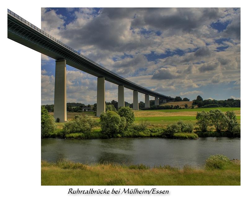 Ruhrtalbrücke bei Mülheim/Essen