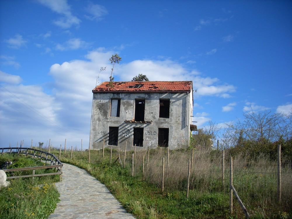 Ruiene am Jacobsweg in Spanien