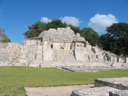 Ruinas de Edna (2), Campeche, México