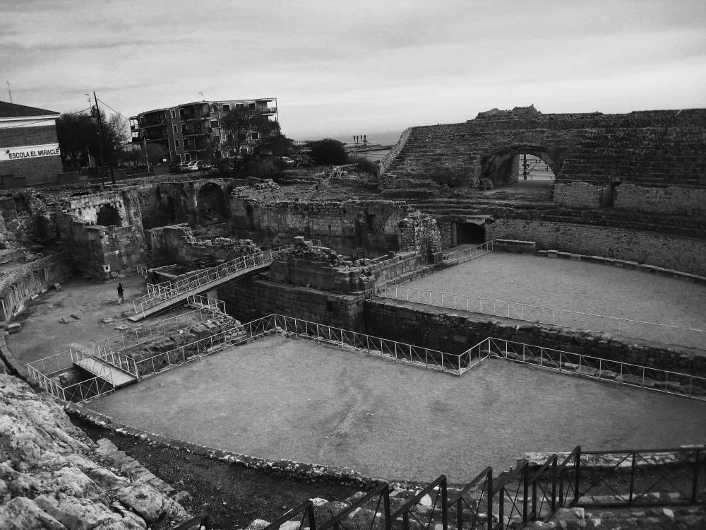 Ruinas de Tarragona (anfiteatro)