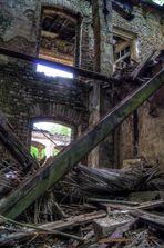 Ruine am alten Lokschuppen in Betzdorf