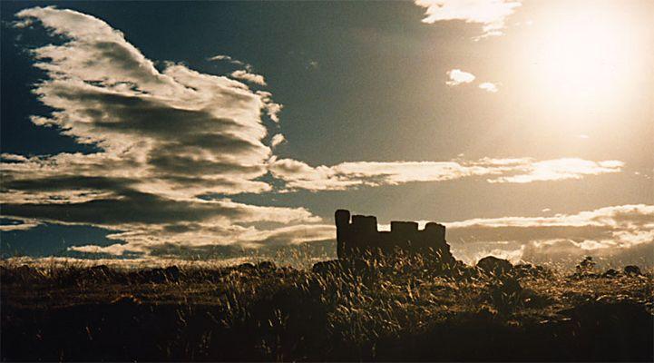 Ruine am Titicacasee