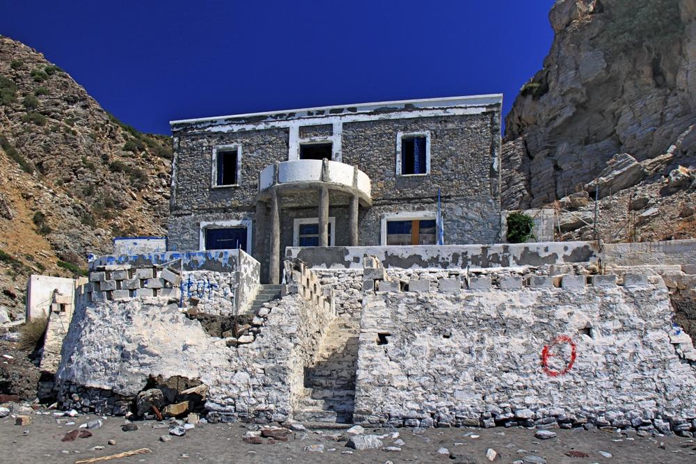 Ruine an der Embros Therme