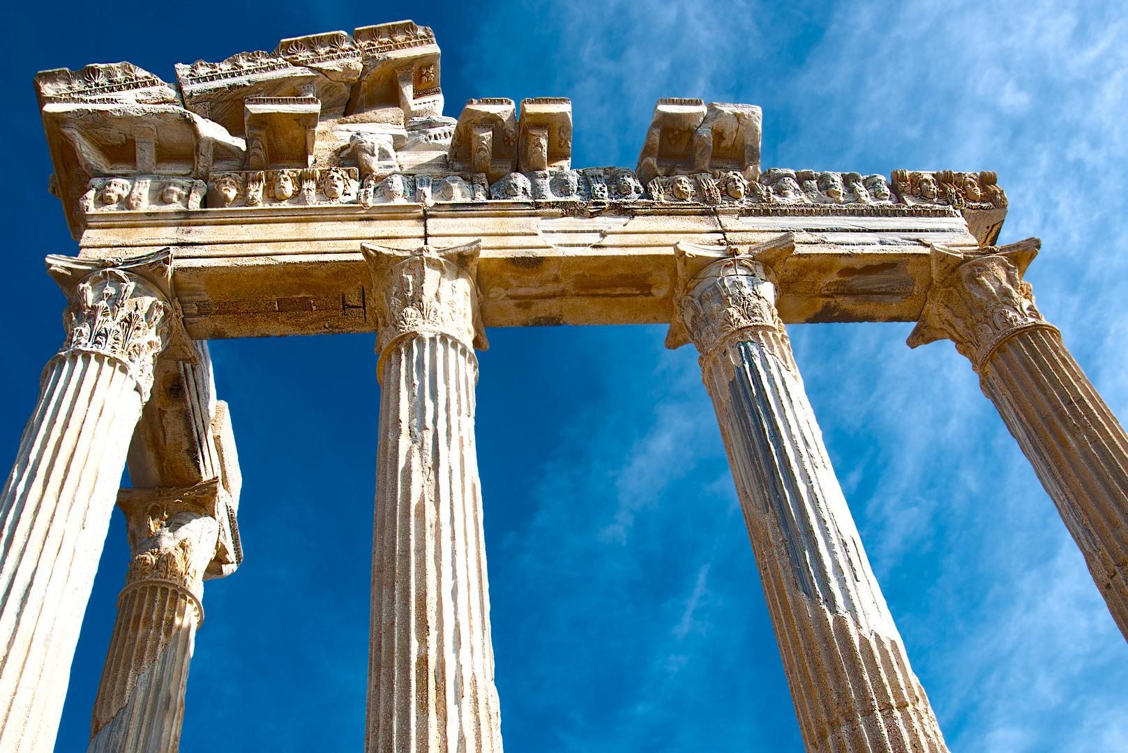Ruine Apollon Tempel