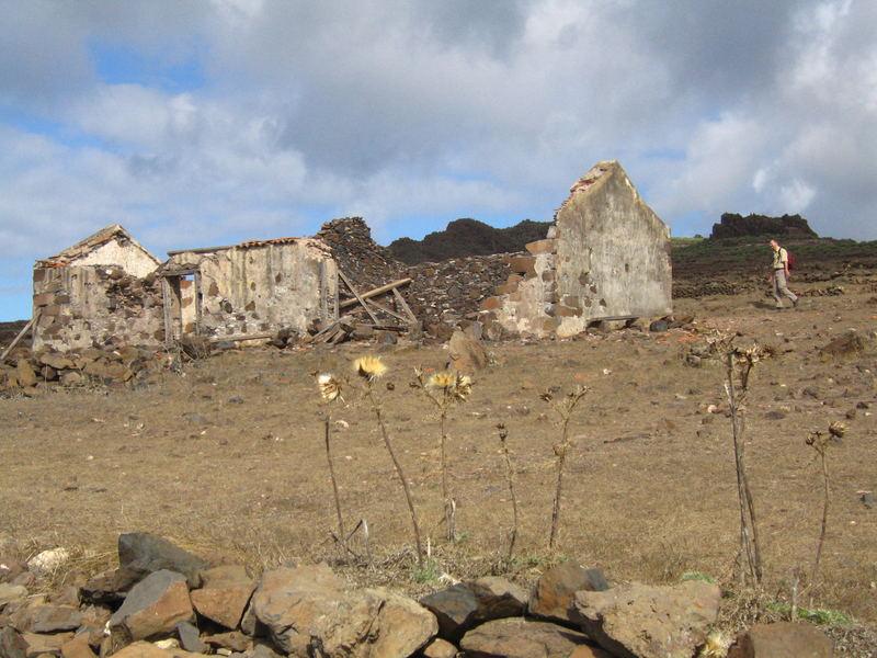 Ruine auf La Gomera