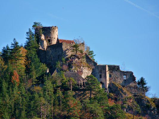 Ruine Burg Klamm