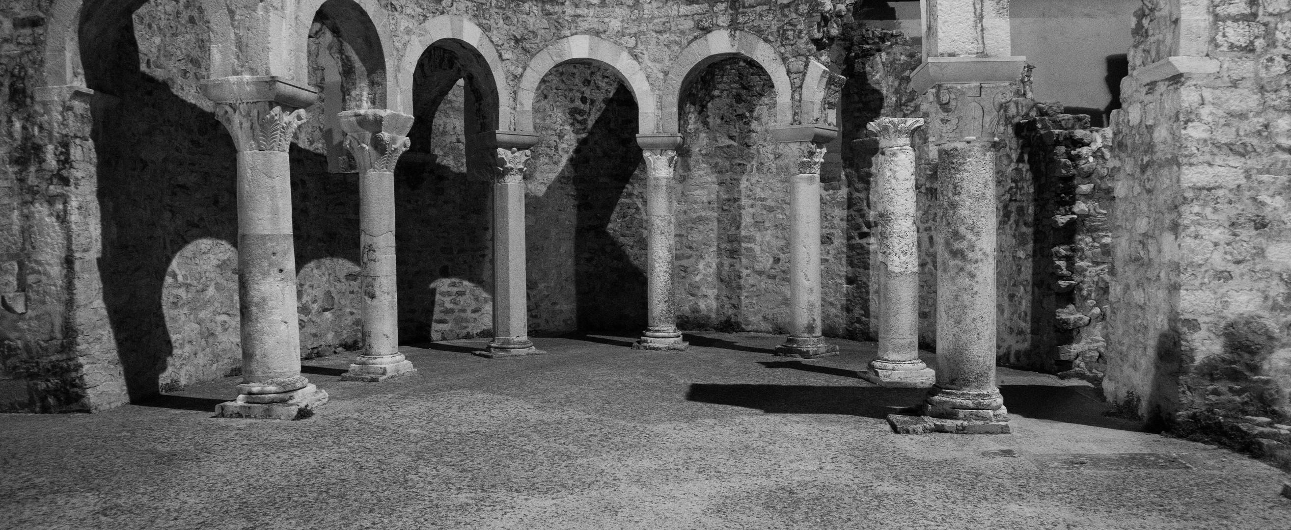 Ruine der Kirche des hl. Johannes in Rab