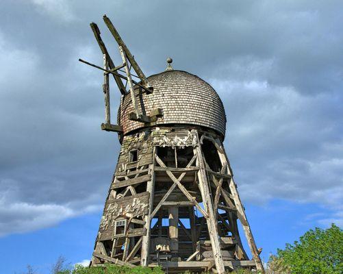 Ruine einer Windmühle...(2)