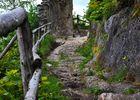 Ruine Eppenstein Aufstieg