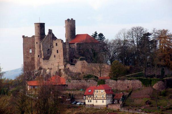 Ruine Hanstein in Thüringen