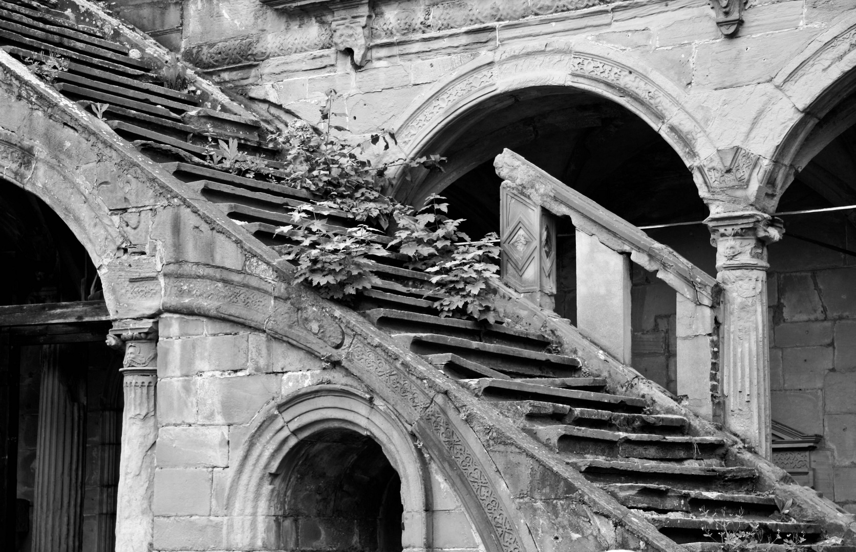 Ruine in Stuttgart