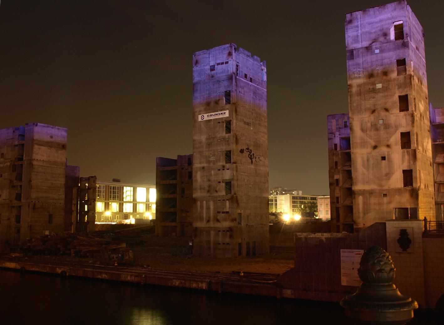 Ruine Palast der Republik, Berlin - Festival of lights