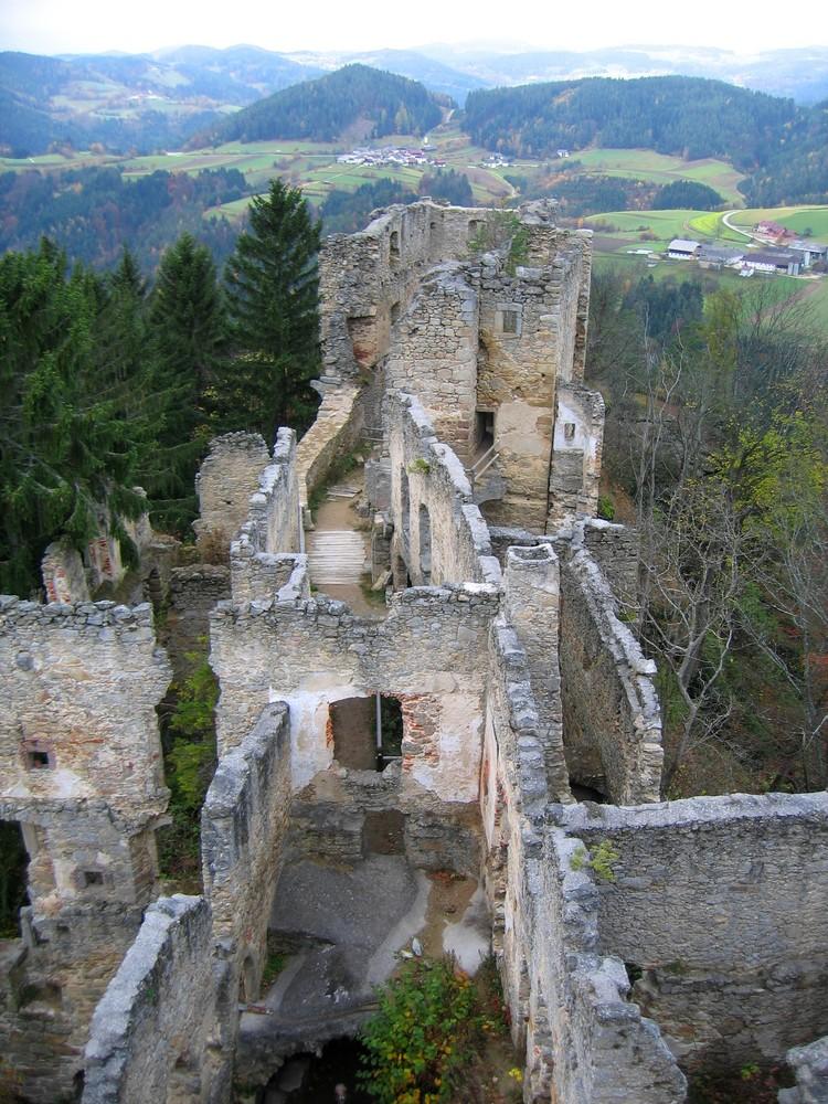 Ruine Prandegg (nahe Gutau O.Ö.)