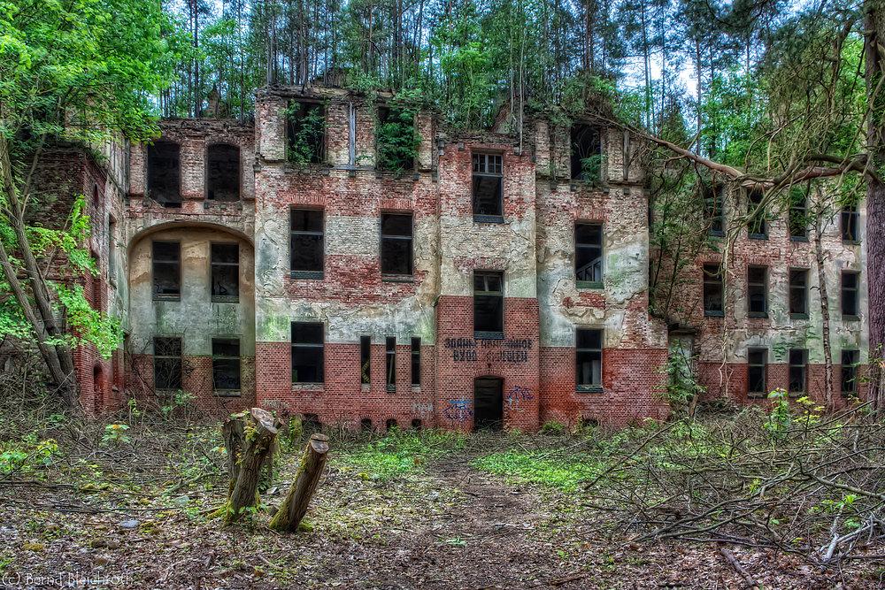 Ruine Sektor A - Beelitz Heilstätten