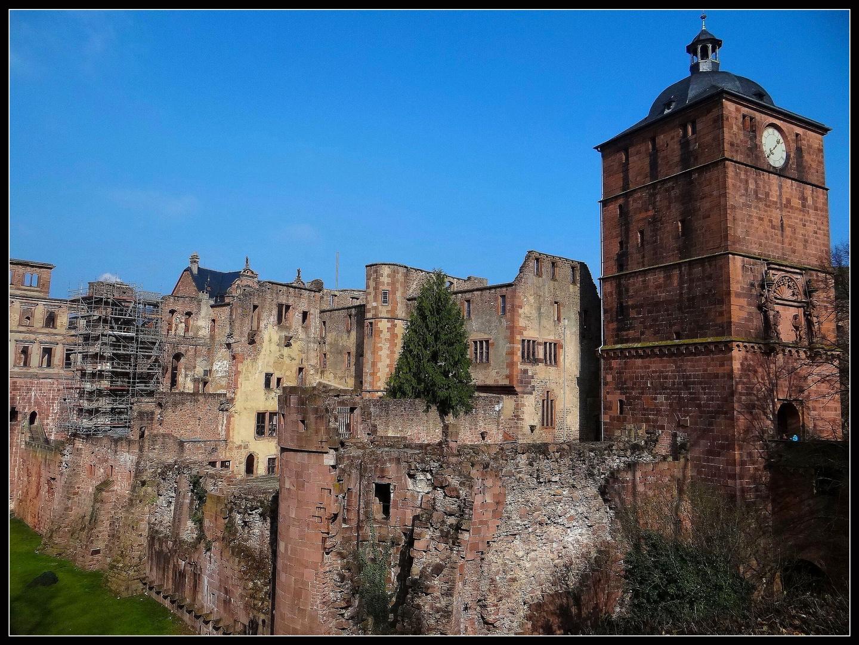 Ruine von Schloß Heidelberg