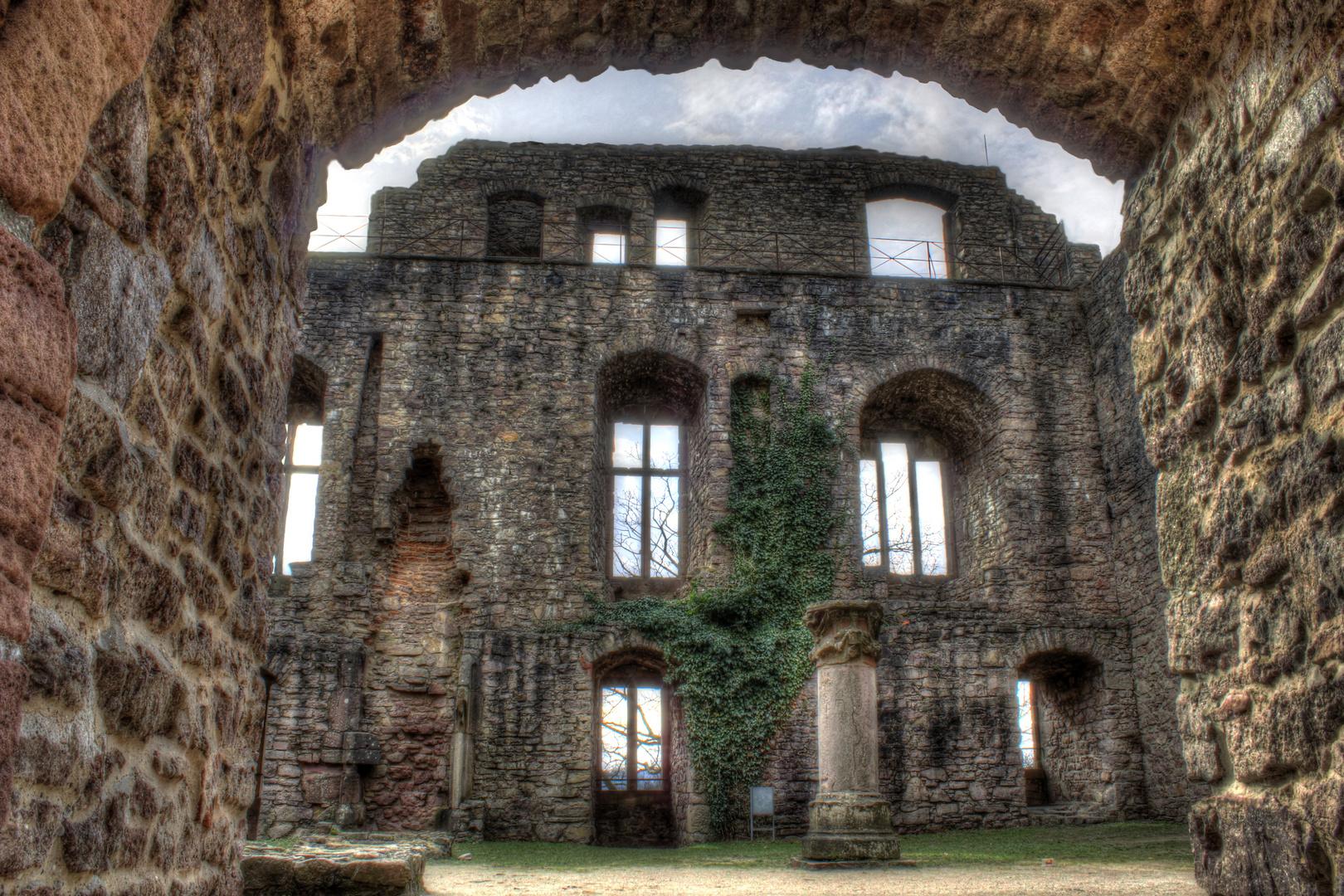 Ruinen Alte Schloss in Baden Baden