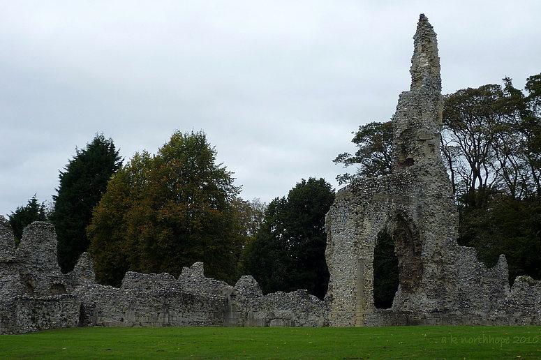Ruinen/ Ruins in Norfolk - Thetford
