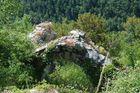 Ruines dans les gorges du Tarn
