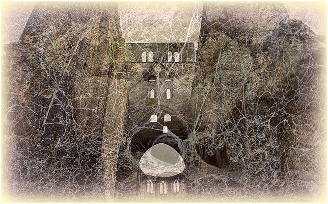 Ruines de l'abbaye de Hambye
