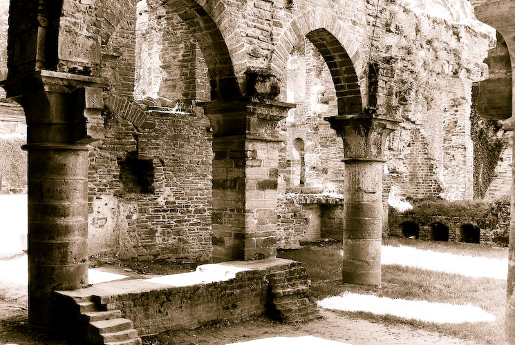 Ruines de l'Abbaye de Villers
