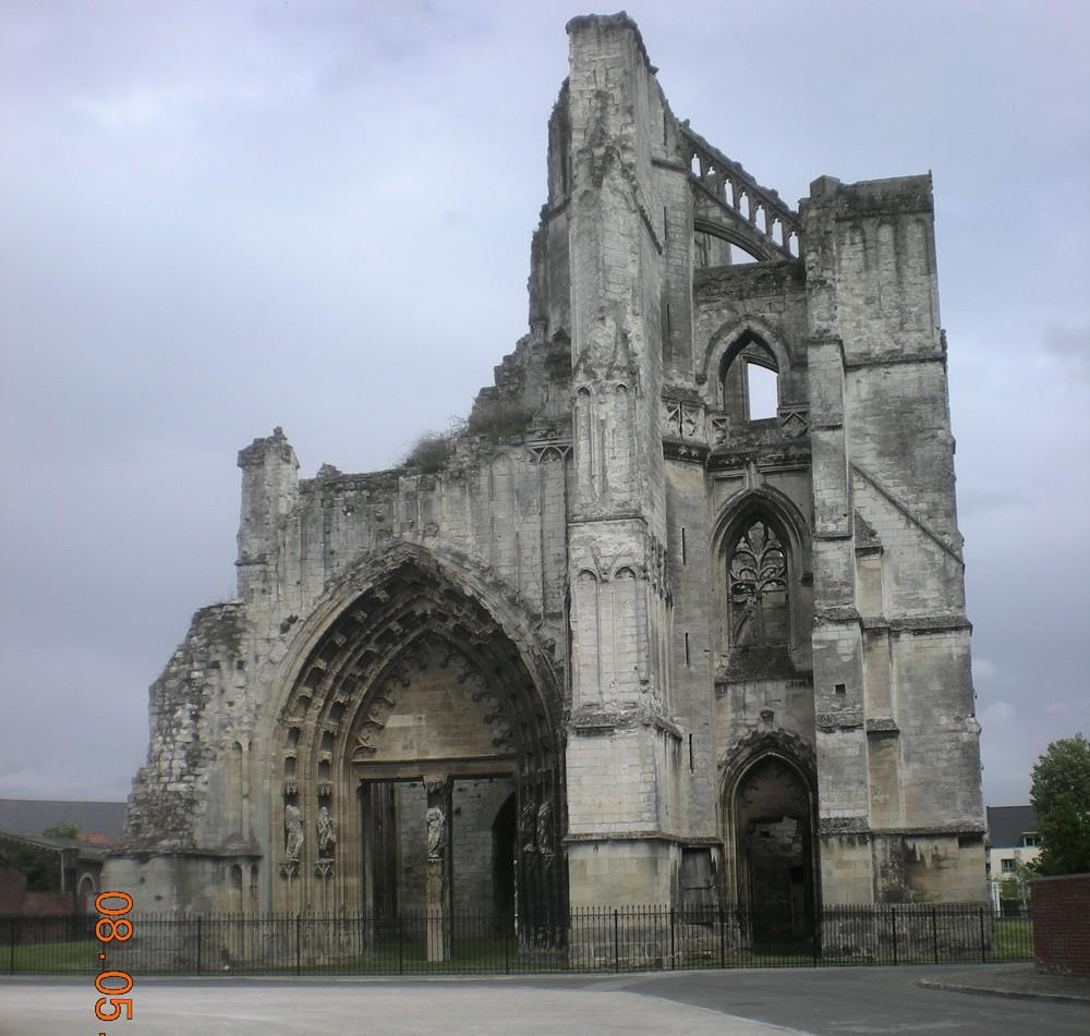 Ruines de l'Abbaye St-Bertin
