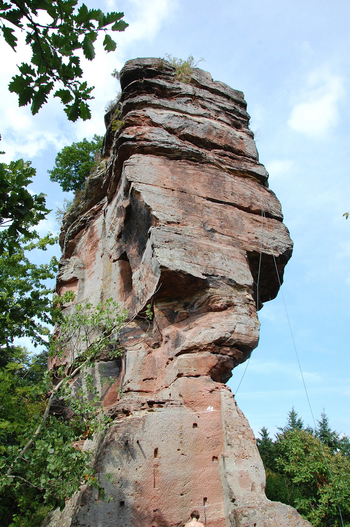 Ruines du chateau du Winstein (Alsace)