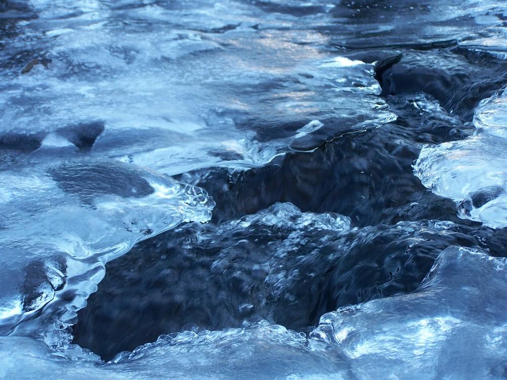 ruisseau de glace