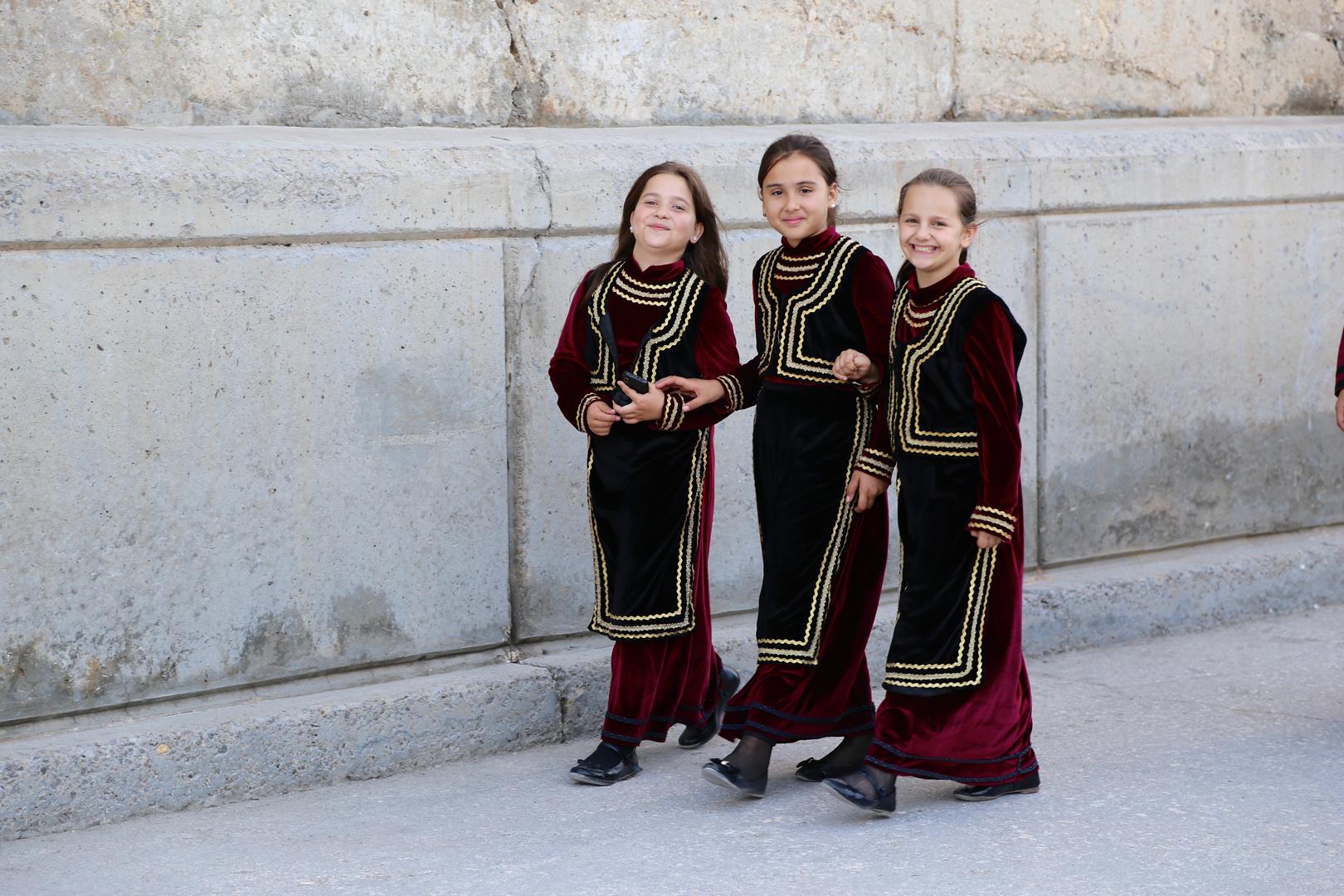 rumänische Tanzgruppe