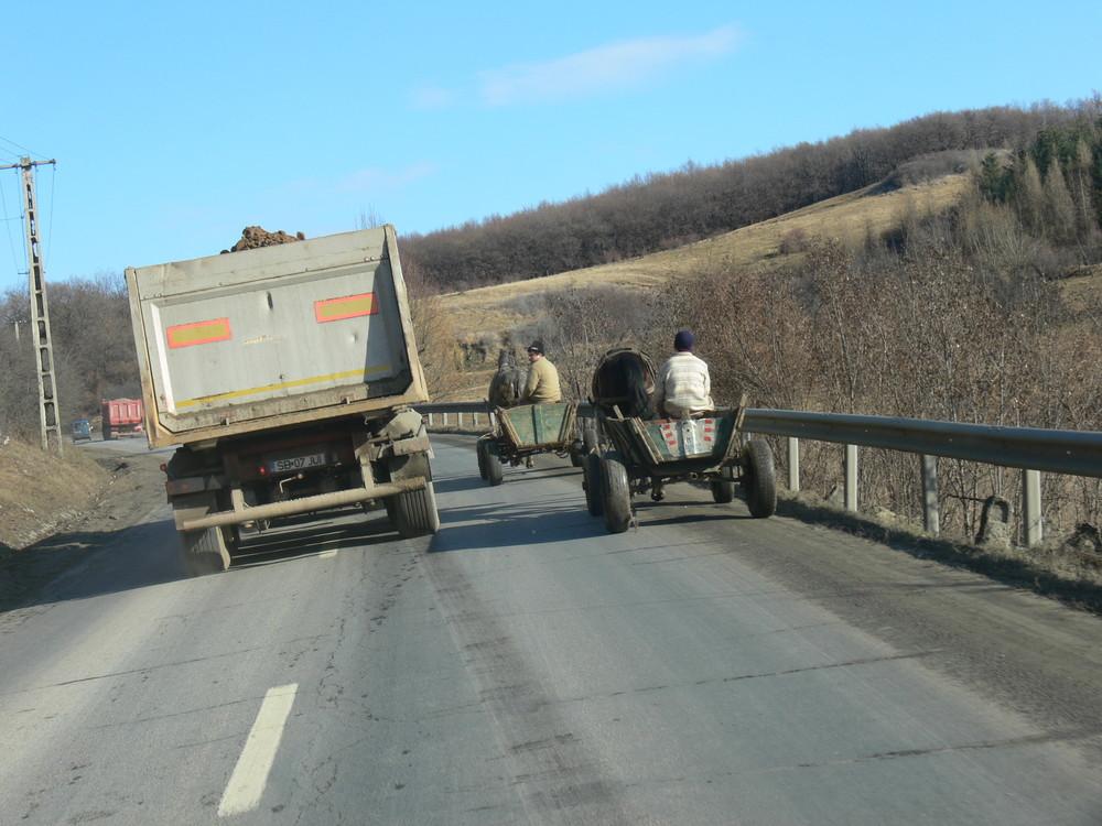 Rumänisches Wagenrennen