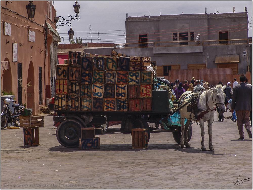 Rummikub en Plaza Djemaa el Fna (Marrakech Marruecos)