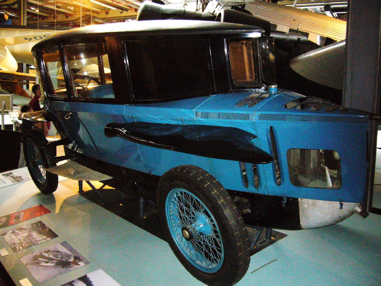 Rumpler Tropfenwagen von 1921 von Edmund Rumpler
