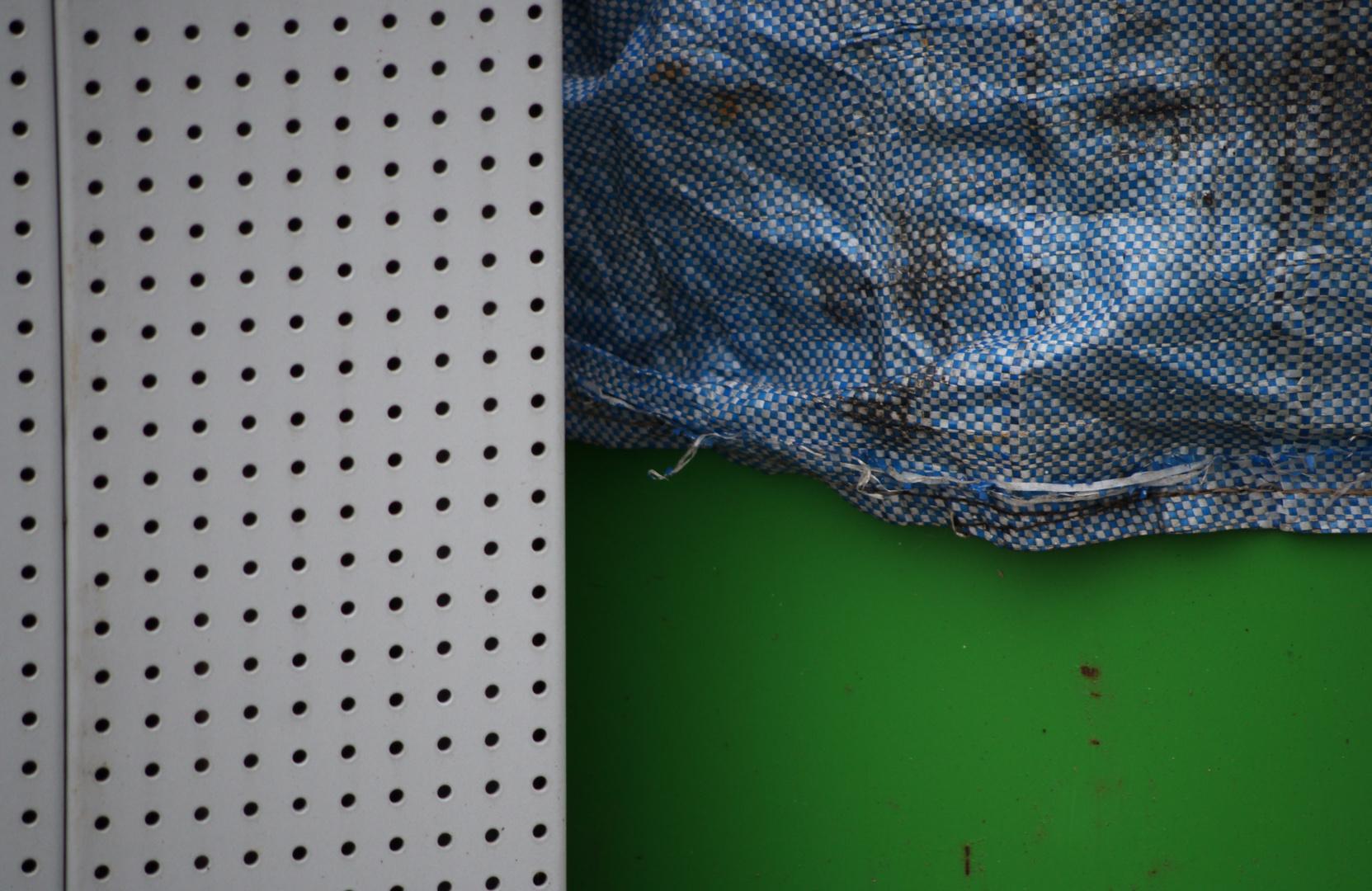 Rund, Raum. Quadratisch, Fläche. Und Grün.