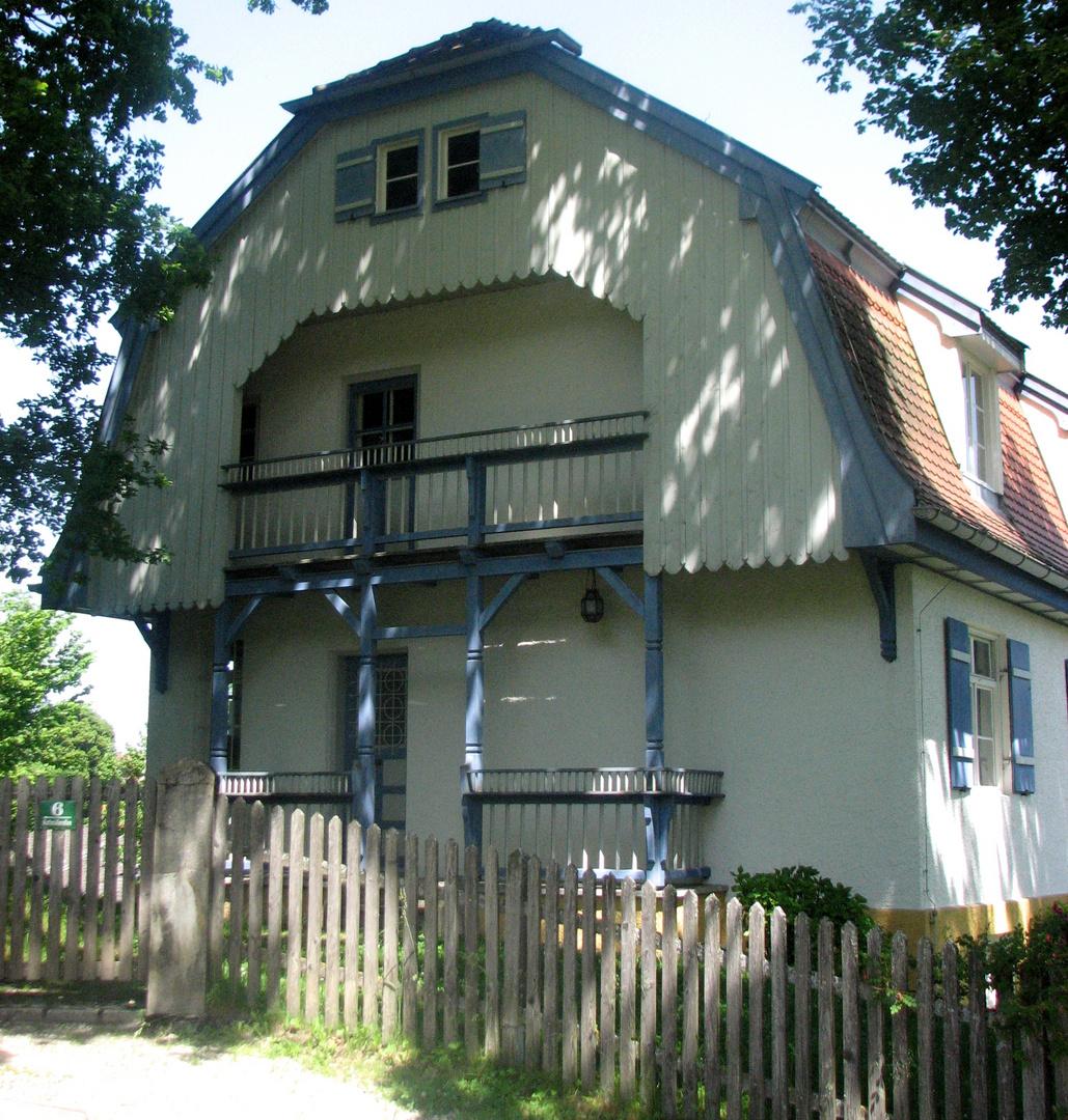 Rund um das Münterhaus in Murnau