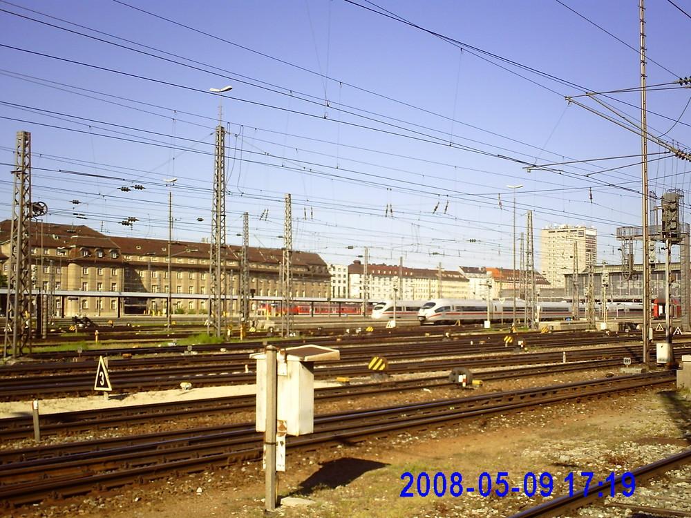Rund um den Münchener Bahnhof