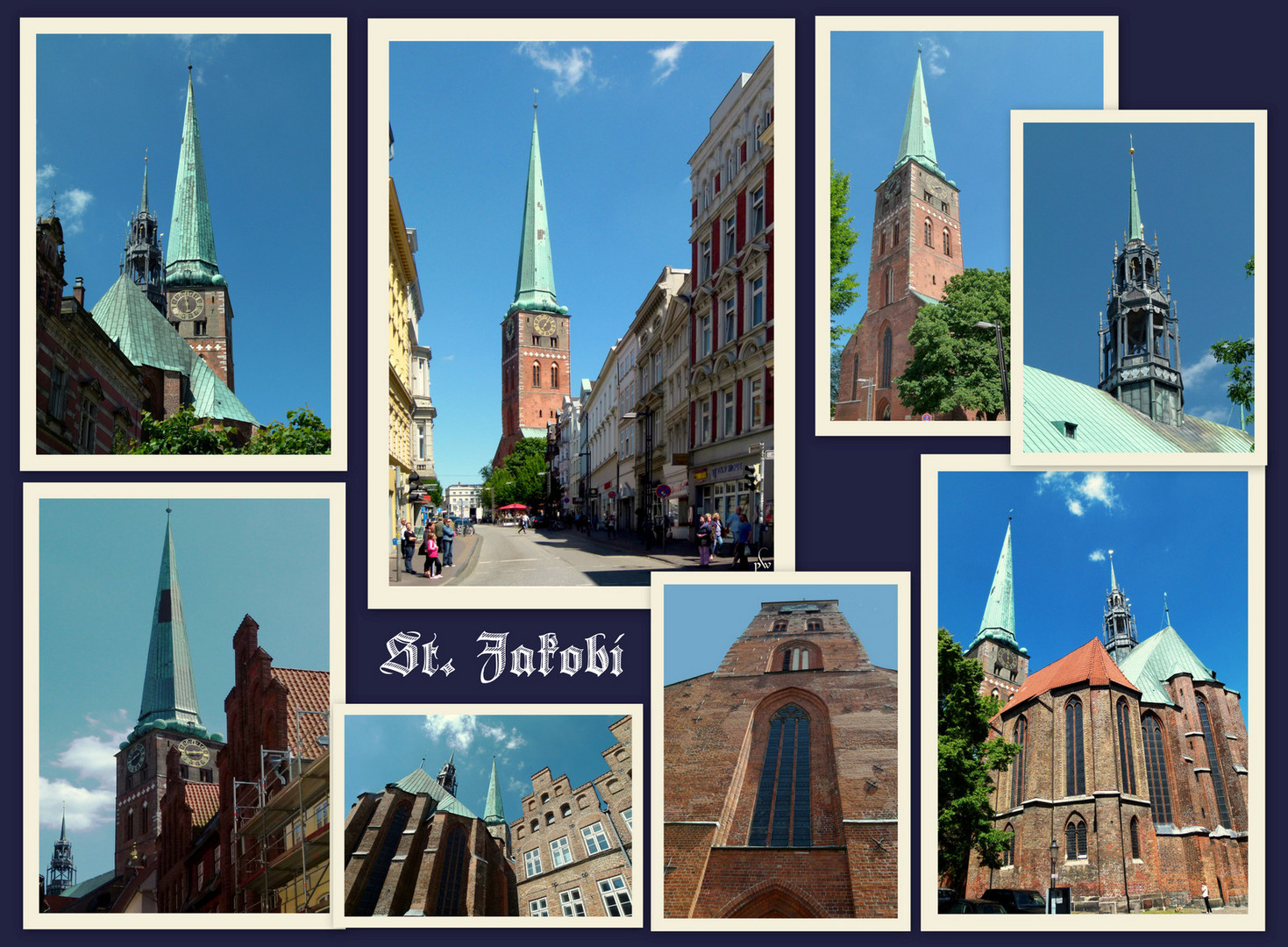 Rund um St. Jakobi zu Lübeck