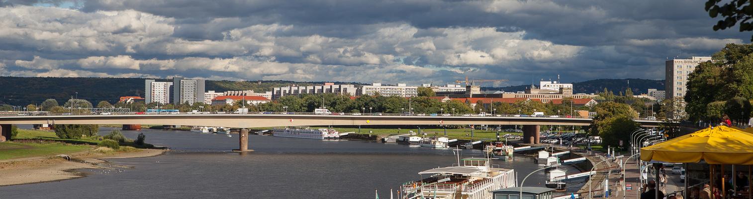 Rundblick auf Dresden (mal nicht die klassische Blickrichtung, die kennt jeder)