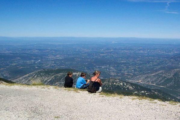 Rundblick vom Mont Ventoux