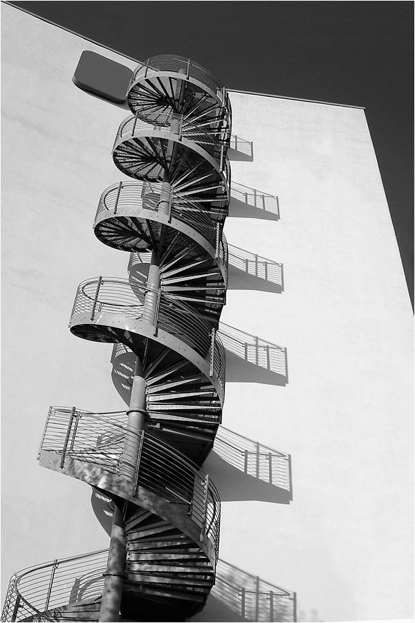Runde Treppe...