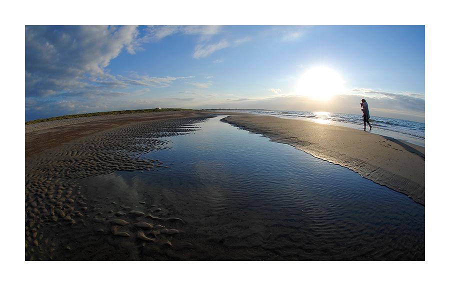 ... runder Strand ...