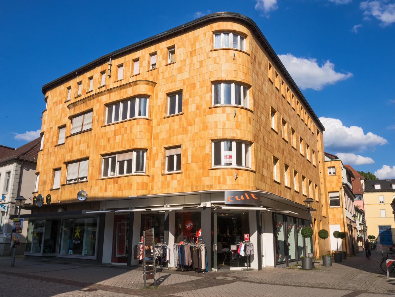 Rundes Eckhaus