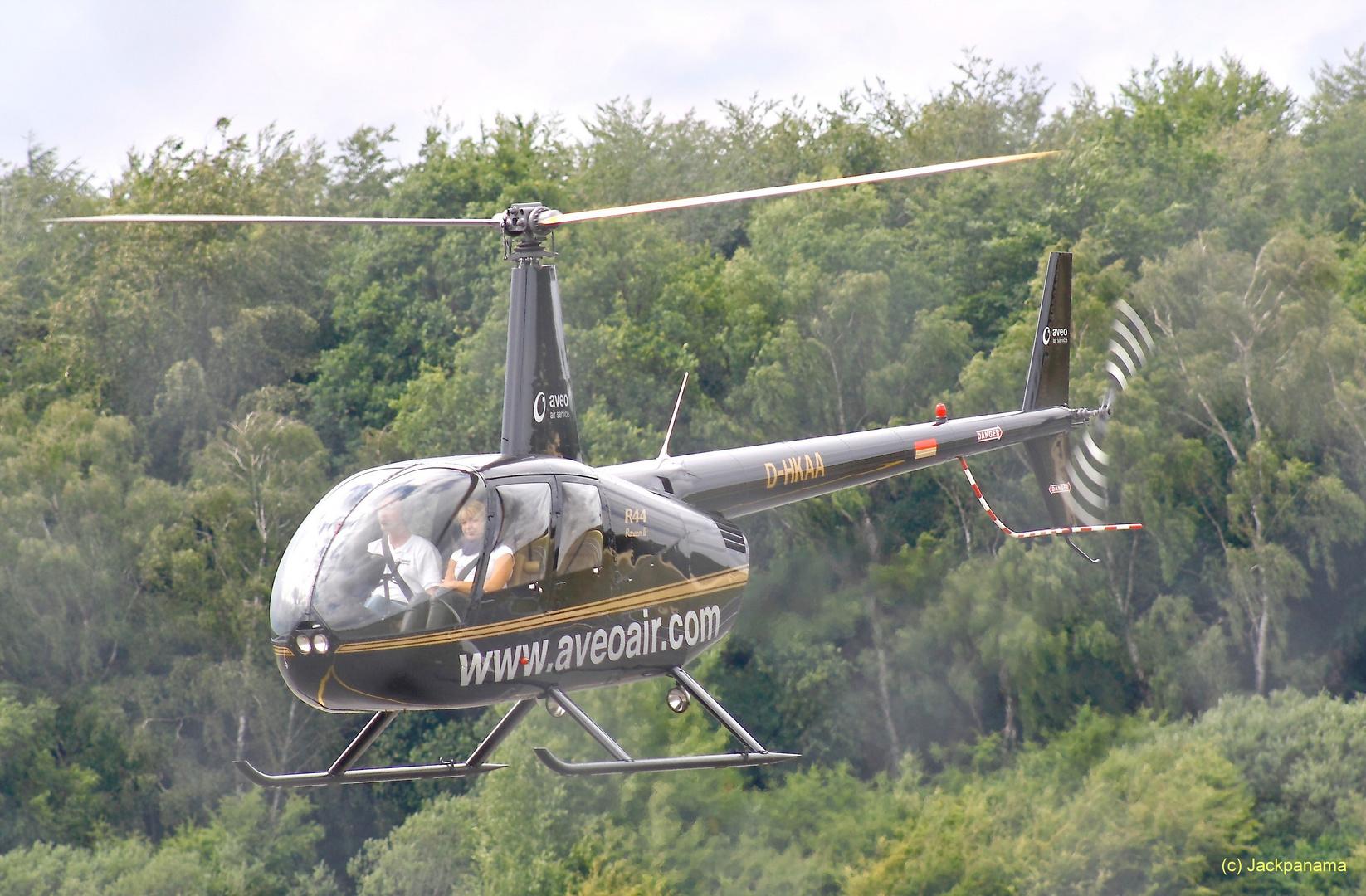 Rundflug am Flugplatz Schwarze Heide in Kirchhellen