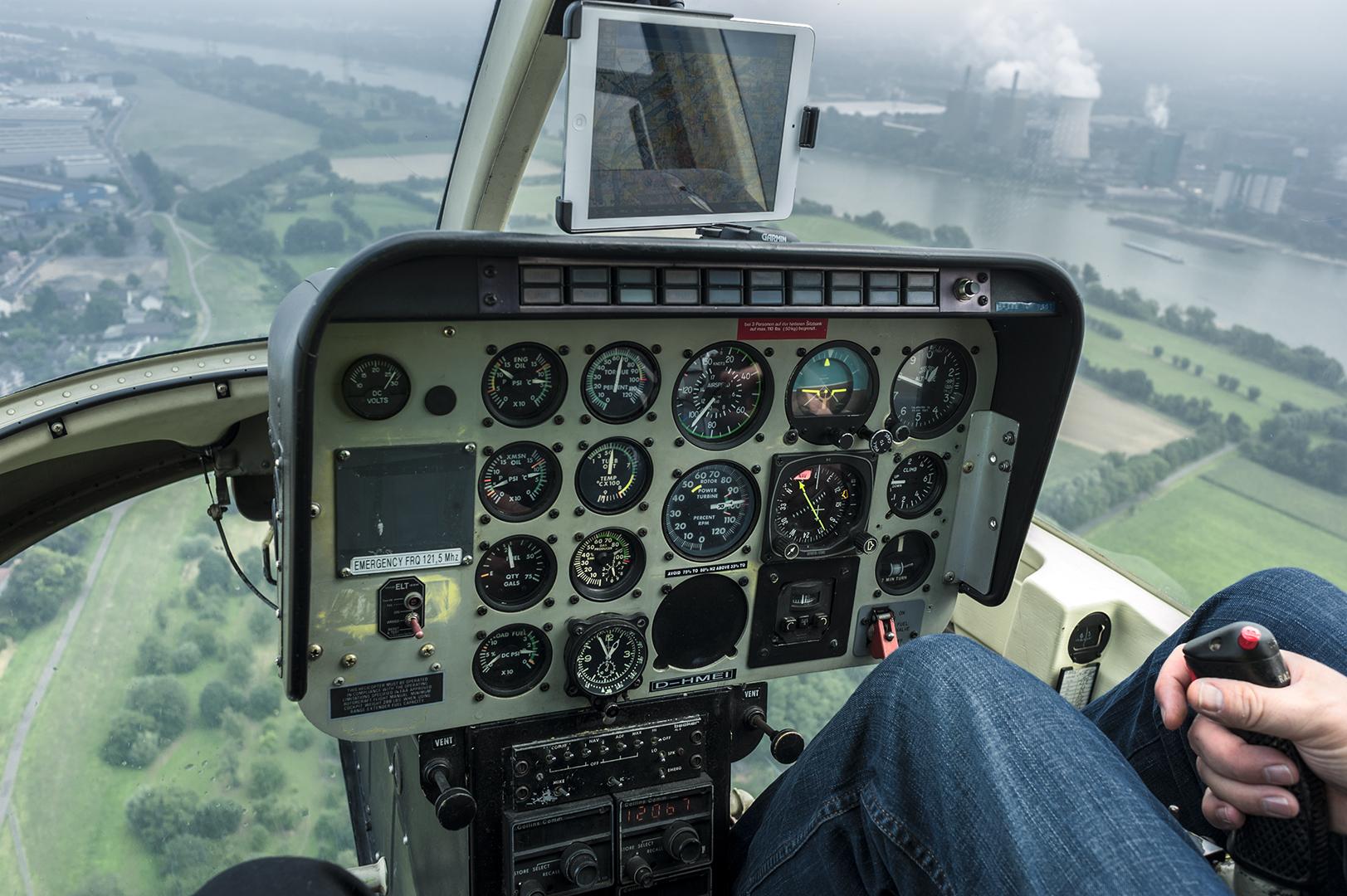 Rundflug mit Hubschrauber Bell Jet Ranger - Foto 21