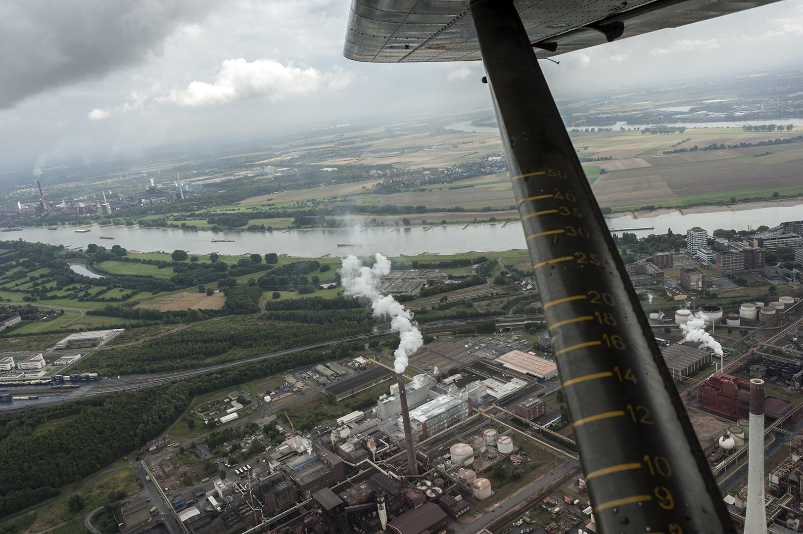 Rundflug mit Oldtimer Broussard - Foto 17