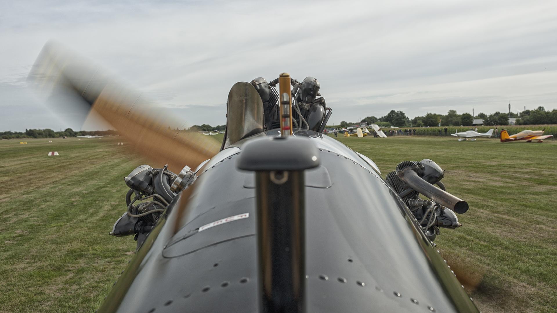 Rundflug mit Oldtimer Ryan PT-22 Cabrio - Foto 19