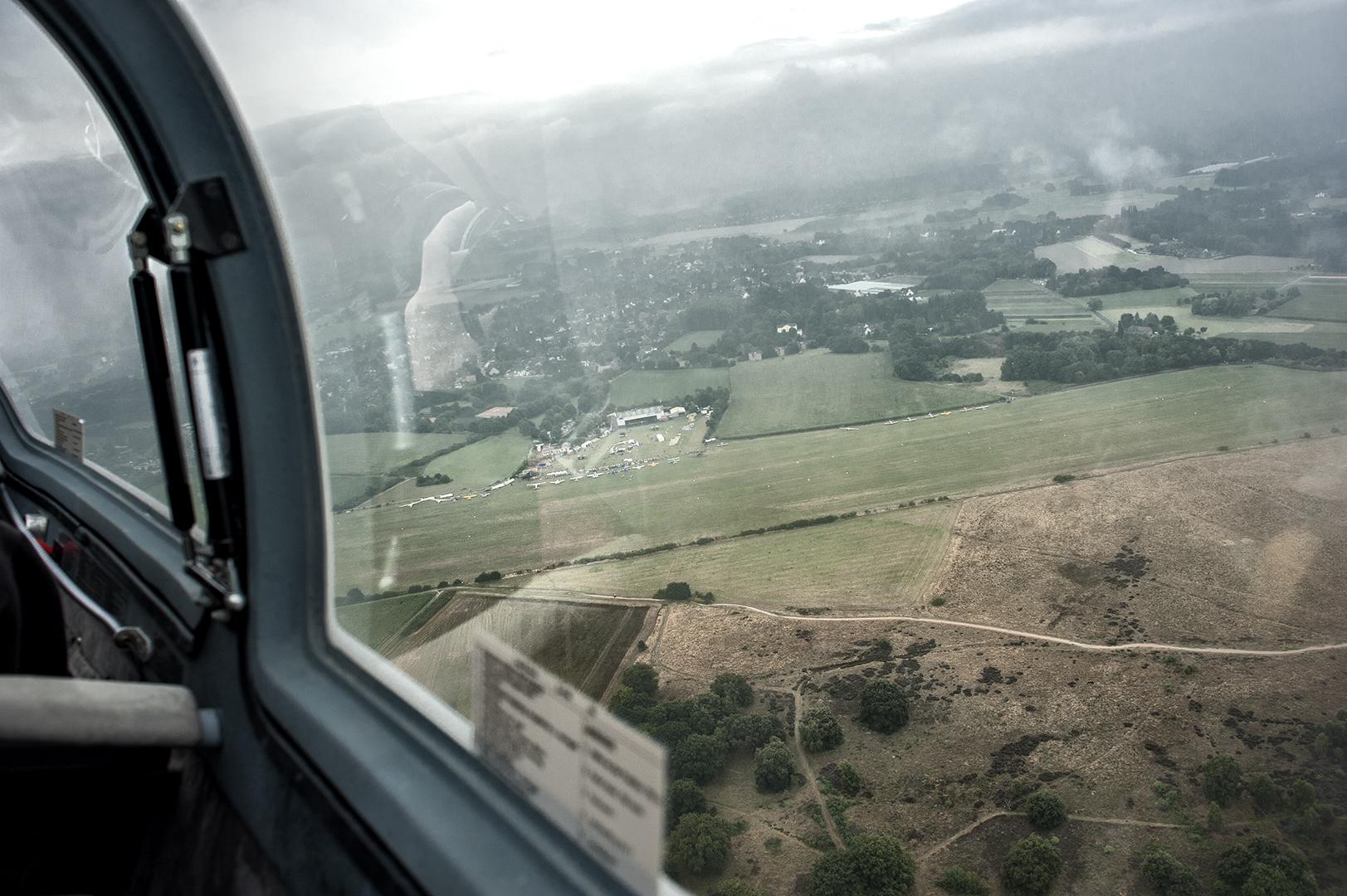 Rundflug mit Segelflugzeug Acro Twin III - Foto 9