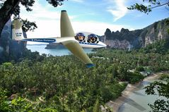 Rundflug über die Insel