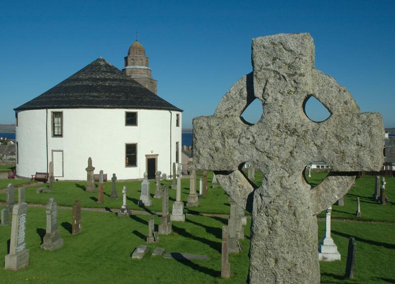 Rundkirche in Bowmore